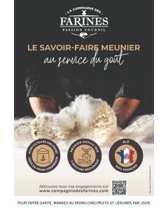 Kit La Compagnie des Farines Passion Fournil