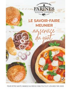 Affiche Burger/Pizza