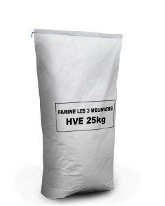 FARINE T65 3 MEUNIERS HVE - 25 KG